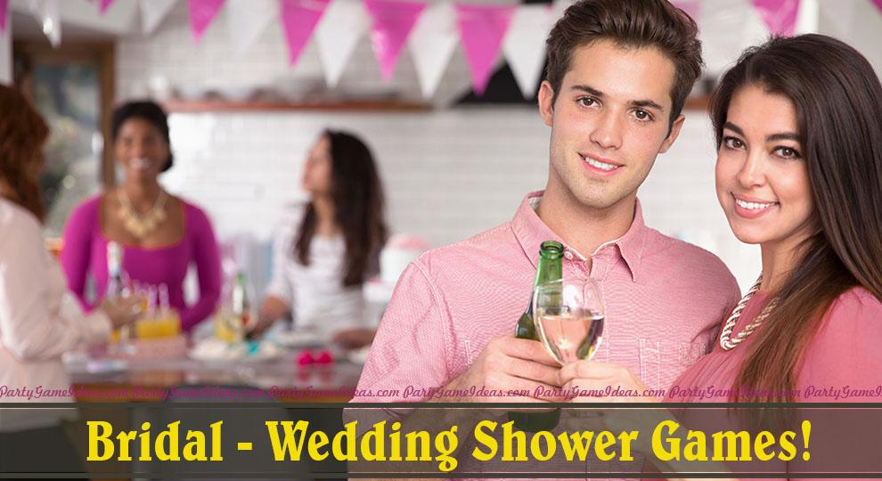 category bridal shower games
