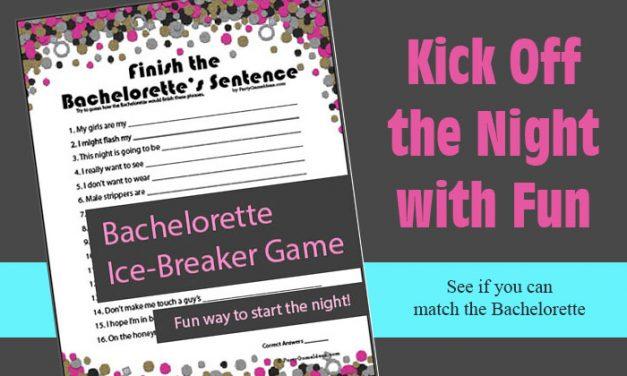 Finish the Bachelorettes Sentence