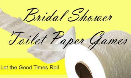 Bridal Shower Toilet Paper Games