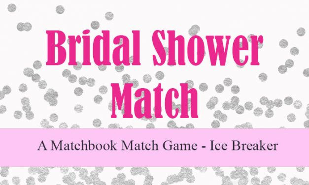 bridal shower match
