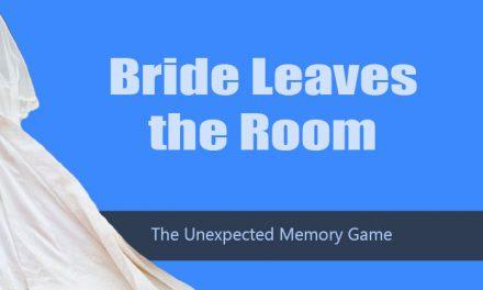 Bride Leaves the Room