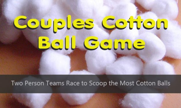 Couples Cotton Ball Shower Game