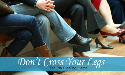 Don't Cross Your Legs Game