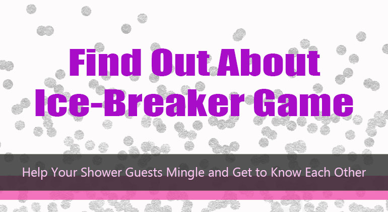 Find Out About – Bridal Shower Game