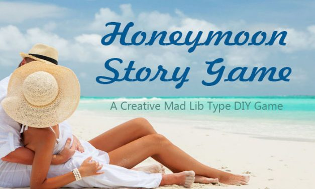 Honeymoon Story Game – Bridal Shower Mad Lib
