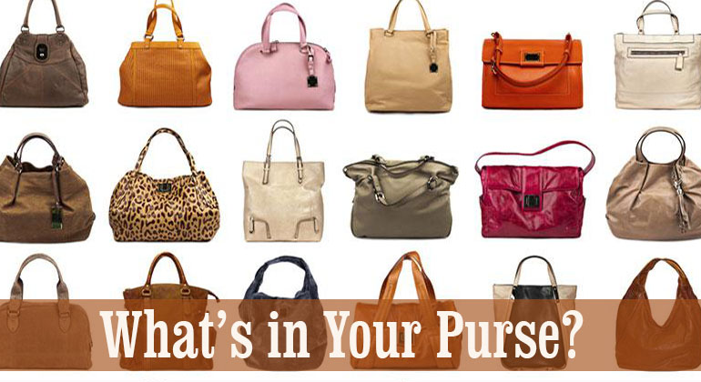 Whats in Your Purse Bridal Shower Games