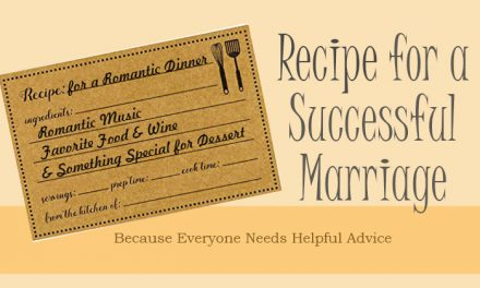 Recipe for a Successful Marriage