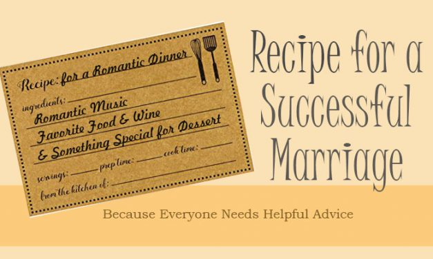Recipe for a Successful Marriage