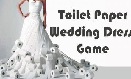 Toilet Paper Wedding Dress Game