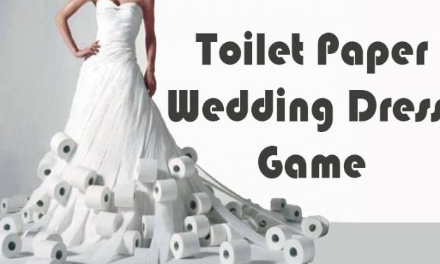Toilet Paper Wedding Dress Game