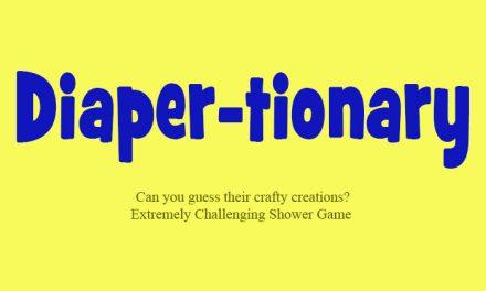 Diaper-Tionary Game