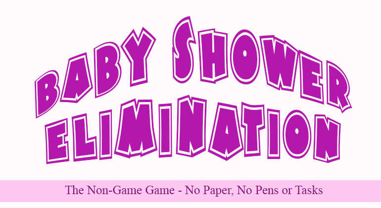 Baby Shower Elimination Game
