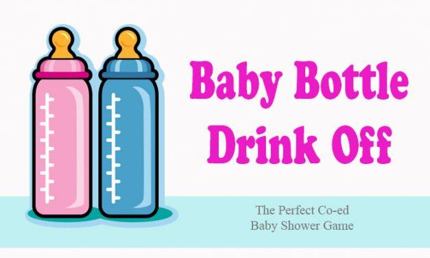 Baby Bottle Drink Off