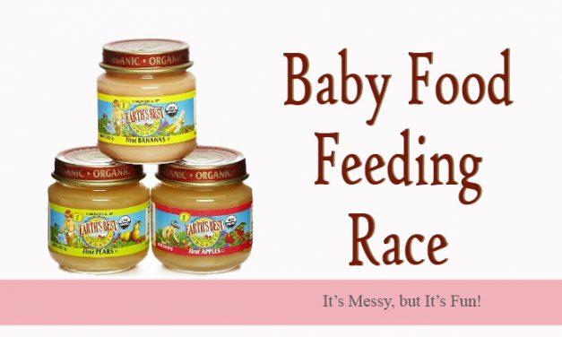 Baby Food Feeding Race