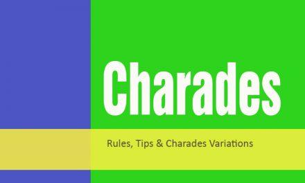 3 Charades Games