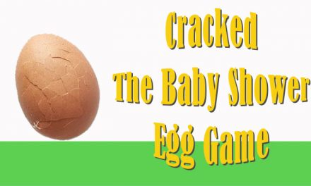 Cracked Baby Shower Egg Game