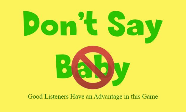 Dont Say Baby Game