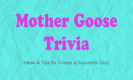 Mother Goose Trivia Game