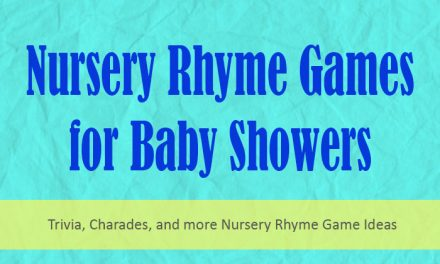 Nursery Rhyme Games for Baby Showers