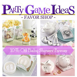 Page Game Ideas Baby Shower Favors