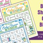 Baby Shower Bingo Cards – Gift Bingo