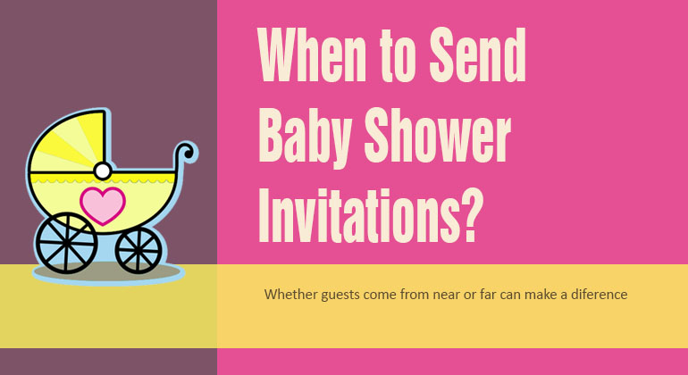 When should you send out baby shower invitations when to send out baby shower invitations filmwisefo