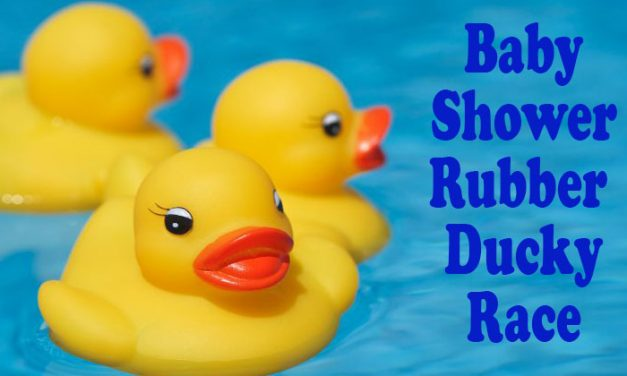 Baby Shower Rubber Ducky Race