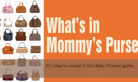 What's in Mommy's Purse Game