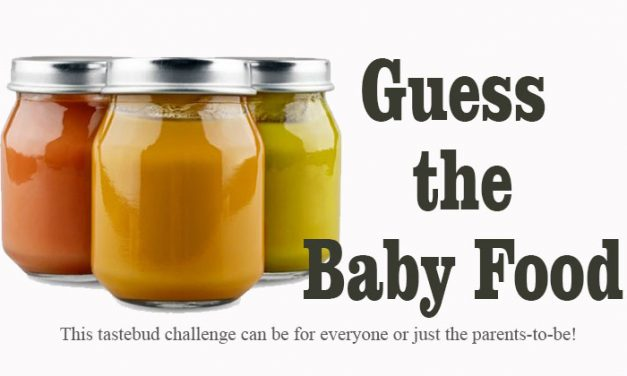 Guess the Baby Food