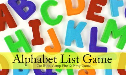 Alphabet List Game