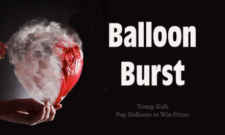Balloon Burst Kids Game