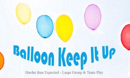 Balloon Keep It Up