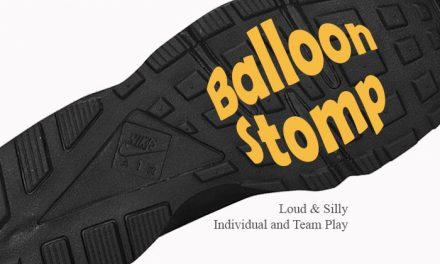 Balloon Stomp Game