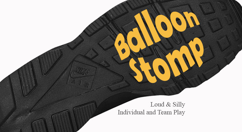 Balloon Stomp Game