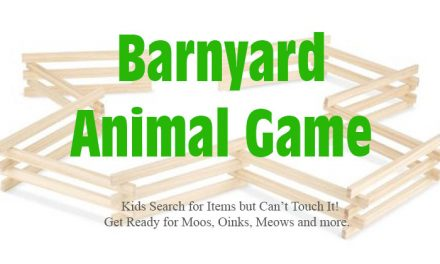 Barnyard Animal Kids Party Game