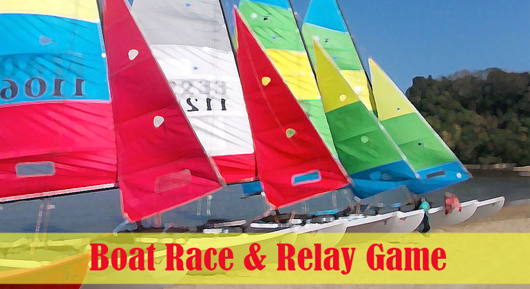 Boat Race and Relay Game