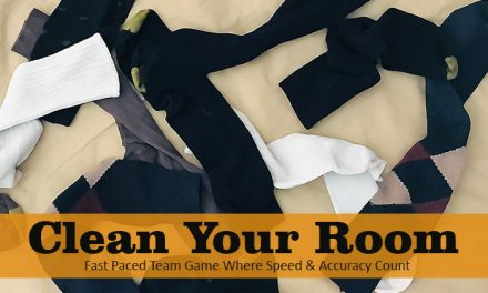 Clean Your Room Party Game