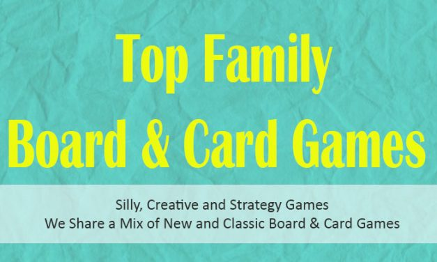 20 Top Family Board and Card Games