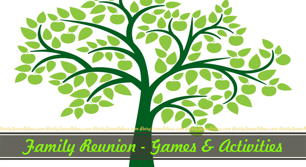 picture regarding Printable Family Reunion Games named Spouse and children Reunion Game titles and Things to do