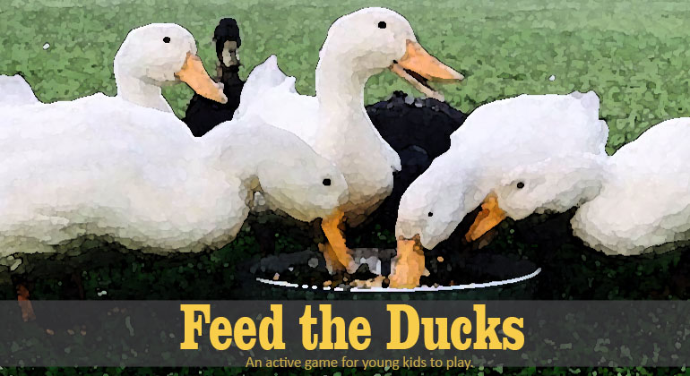 Feed the Ducks Kids Game