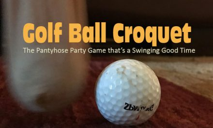 Kids Golf Ball Croquet Game