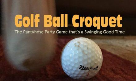 Kids Golf Ball Croquet Game