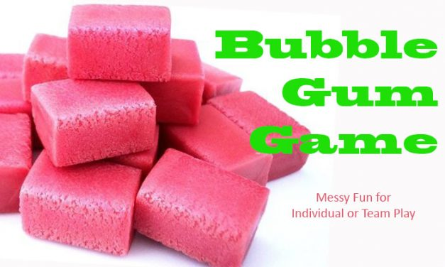Messy Bubble Gum Game