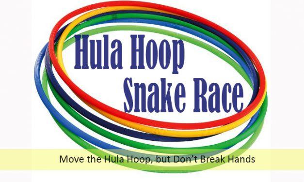 Hula Hoop Snake Race