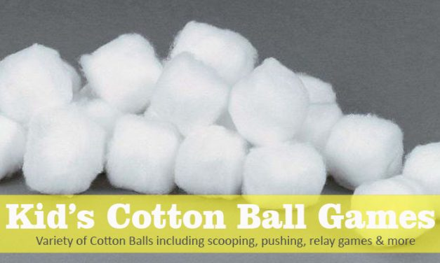 7 Kids Cotton Ball Party Games