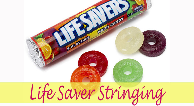 Life Saver Stringing