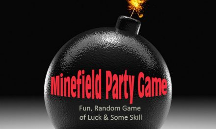 Minefield Kids Party Game