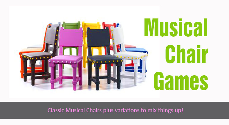 4 Musical Chairs Games