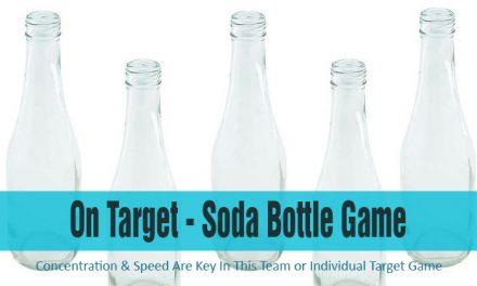 On Target Soda Bottle Game