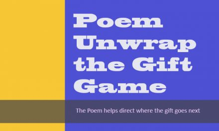 Poem Unwrap the Gift Game